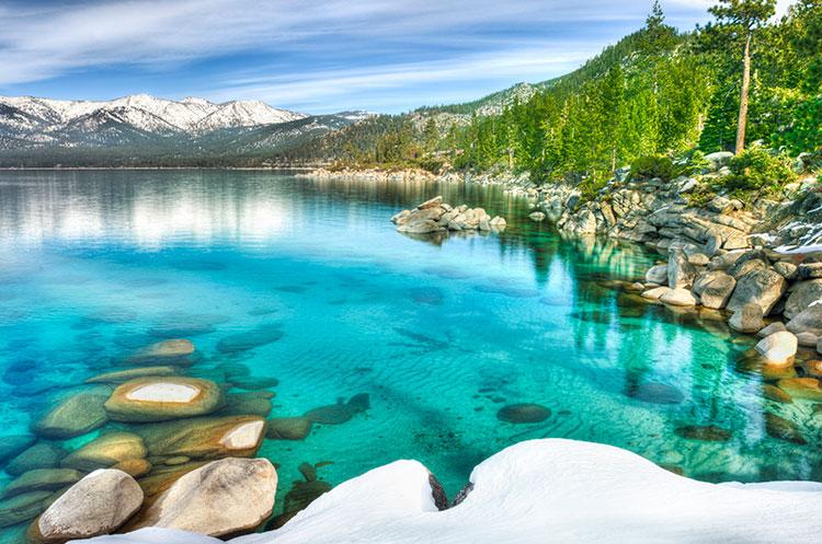 Turquosie Lake Tahoe