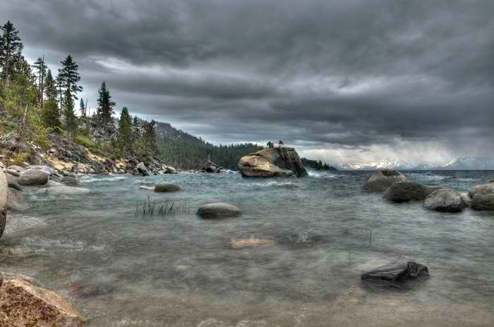 Stormy Day Lake Tahoe