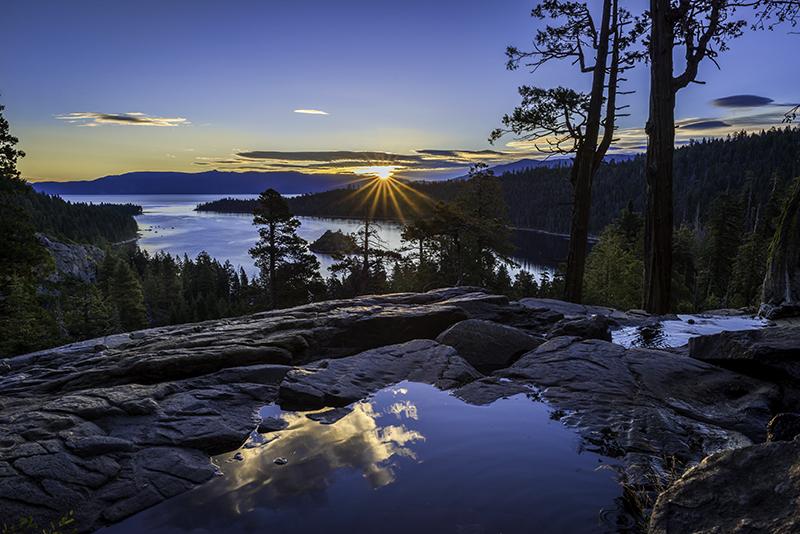 Blue Light Emerald Bay