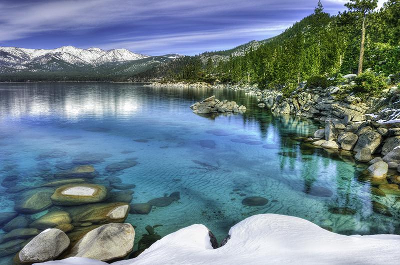 Turquoise Lake Tahoe