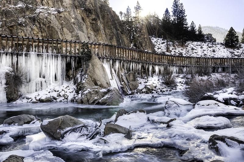 Winter Truckee River